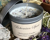 Bohemian Spirit Soy Candle * Relaxation * Free Spirit * Boho * Gypsy * Aromatherapy * Apothecary * Mothers Day * Meditation * Wanderlust