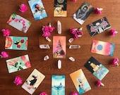 Year Ahead Tarot Reading * Tarot Cards * Tarot Reading * Tarot Deck * Intuitive Reading * Birthday Gift * Spiritual Gift * Christmas Gift
