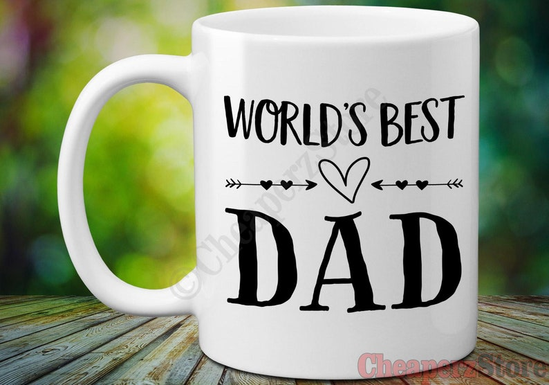 World's DadFather's Coffee Ever Daddy Best Dad MugWorlds Gift GiftGifts Day Father For fY7g6byv