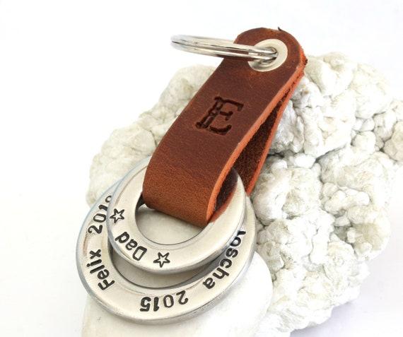 """Letter /""""G/"""" Schlüsselanhänger Key Chain /""""Drive safe/"""" Metall handmade"""