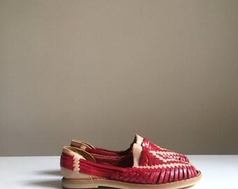 Waqxzrxar Mexicain Cuir Chaussure En Huaraches Enfant Sandale vbf67YIgy