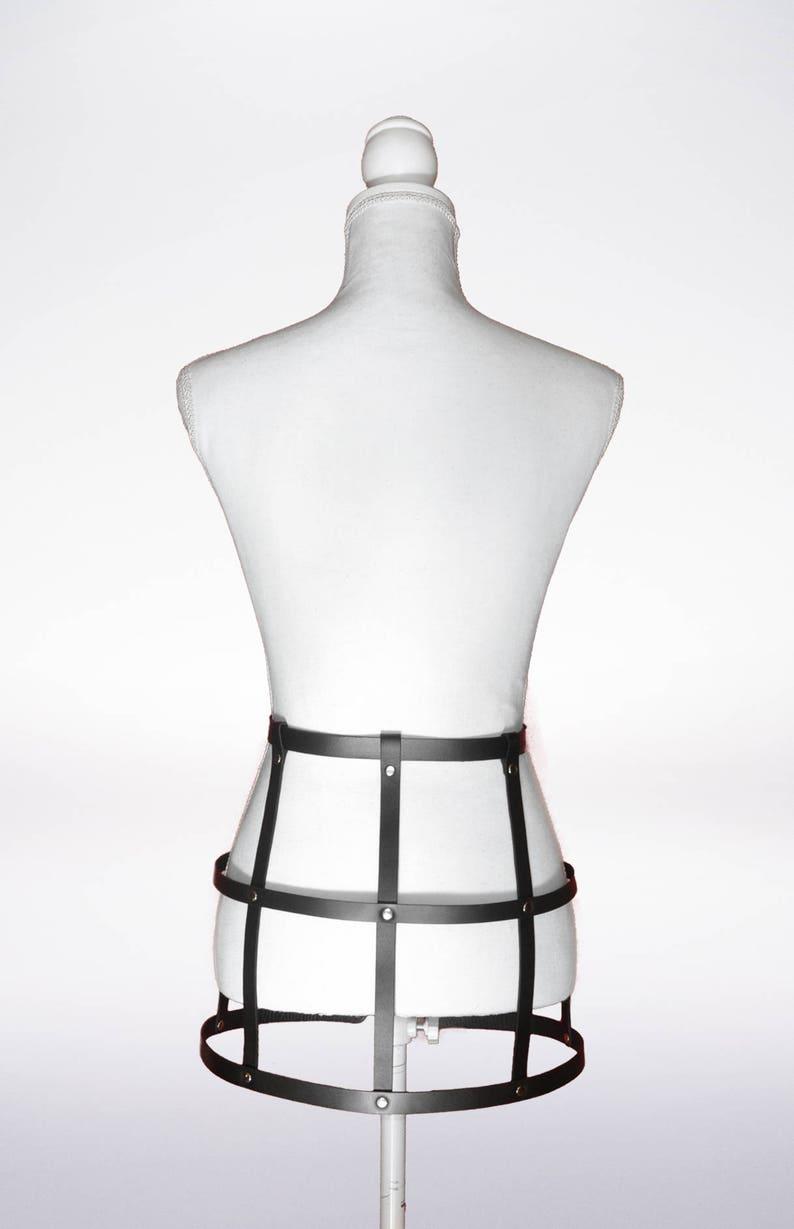 Premium Men Harness skirt Body,Fetish harness skirt,Harness leather Skirt,Leather harness body cage,Mature