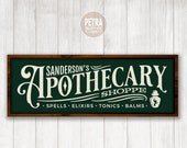 Halloween SVG. Sanderson 39 s Apothecary Shoppe SVG Cut File. Great for Crafting Halloween Rustic Sign and Modern Farmhouse Decoration.