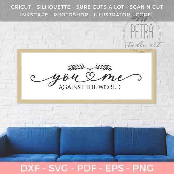 You And Me Against The World Wall Art Printable Home Etsy,What Paint Finish For Bathroom Walls