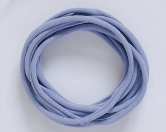 UK Made - Lilac Nylon Headbands (one size fits all) Packs of 10, 25, 50 or 100