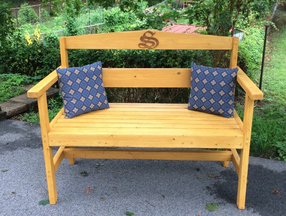 Super Custom Garden Bench Wooden Bench Outdoor Bench Gmtry Best Dining Table And Chair Ideas Images Gmtryco