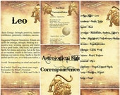 Leo Astrological Sign Cor...