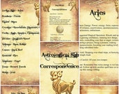 Aries Astrological Sign C...