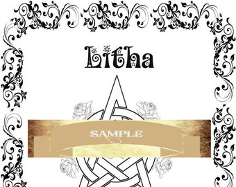 Litha Summer Solstice- Litha pagan holiday Book of Shadows Coloring pages