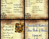 Book of Shadows Printable...