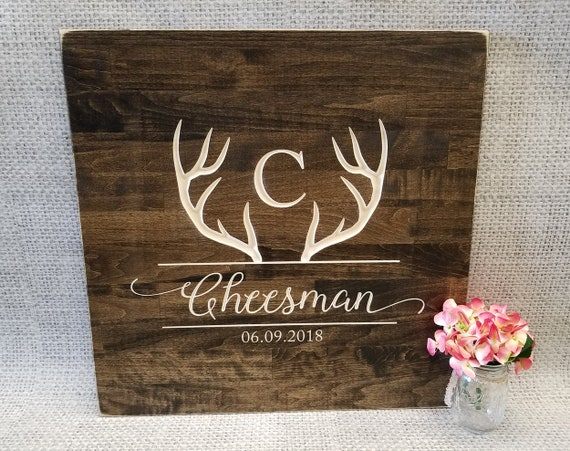 Custom Wooden State Wedding Guestbook any statecountry available in many colors 2 ft Maine in Distressed Ivory
