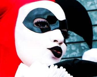 Harley Quinn Worbla mask
