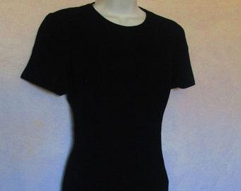 3f83443a049257 LIZ CLAIBORNE PETITE Dresses Black Dress vintage liz claiborne dresses liz  claiborne rare liz claiborne clothing retrostreetshop etsy