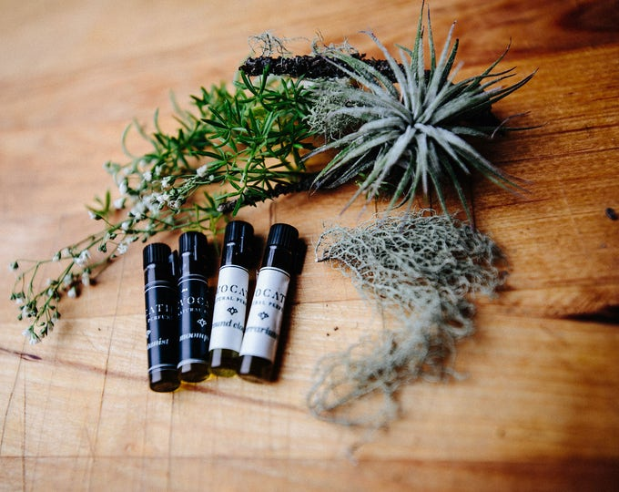 Featured listing image: Arboretum - Fresh, Alive & Green Perfumes Sample Kit