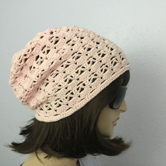 Womens Summer Crochet Hat Womens Summer Slouchy Beanie in  6ed0b2b5e