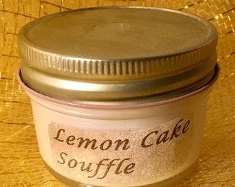 Lemon Cake Soufflé Sm