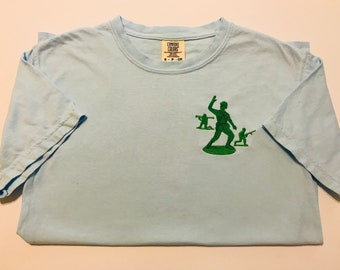 Disney Inspired Toy Soldier, Barrel of Monkeys Monogram Comfort Colors T-Shirt