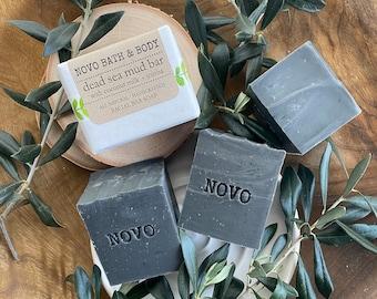 DEAD SEA MUD Facial Bar / All Natural Vegan Facial Bar and Body Soap