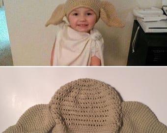 Dobby Hat Halloween Costume sized child-adult 623801927de