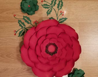Template 8 PDF Paper Flower