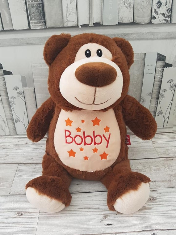 Kids Gift Personalized Plush Animals Cubbies Plush Toys Embroidered Stuffed Animals Cute Monkey
