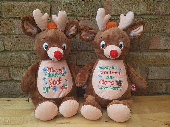 Personalised Christmas Reindeer