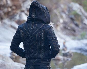 View Cyberpunk Biker Outfit Wallpapers