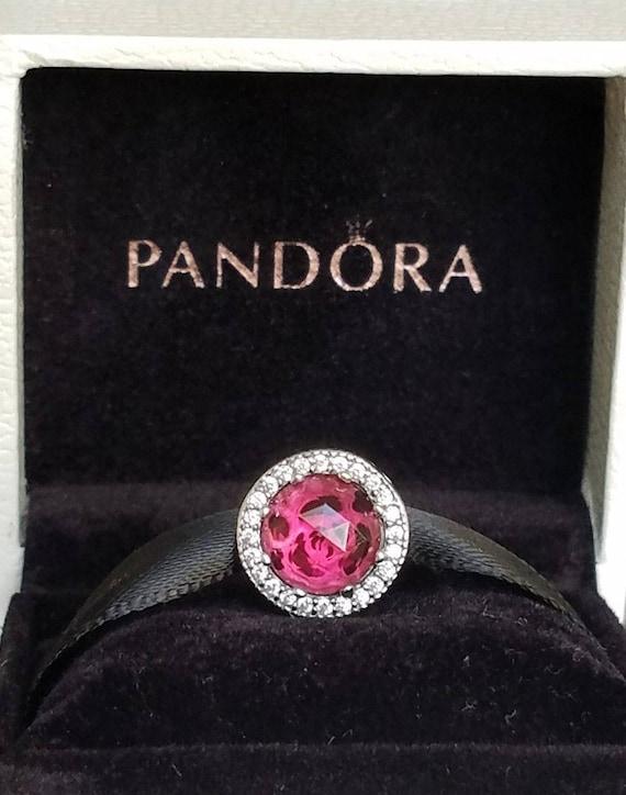 No Box Pandora Disney Beauty And The Beast Belle Radiant Rose Etsy