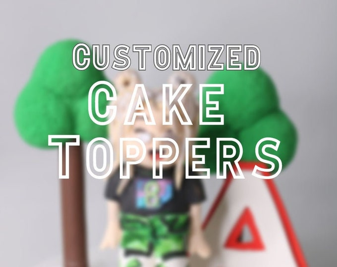 Customized 2d Toppers