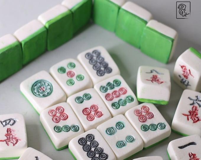 Mahjong Cake Toppers