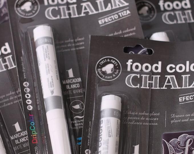 Food ColorWhite Chalk Pen