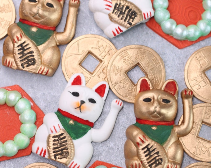 Chinese Charms Cupcake Toppers