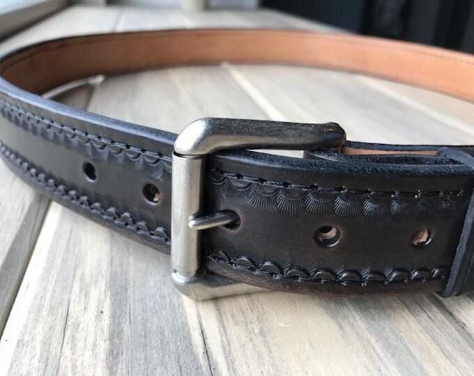 RJ Gun Belt - Antique Black