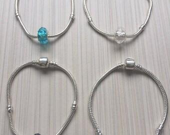 Bracelet european beads / Many size available