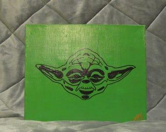 Yoda Canvas