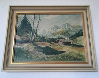 Vintage paintings oil painting vintage