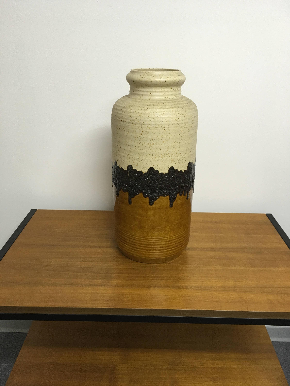 Fat Lava Floor Vase Xxl Vase Vase Vintage Etsy