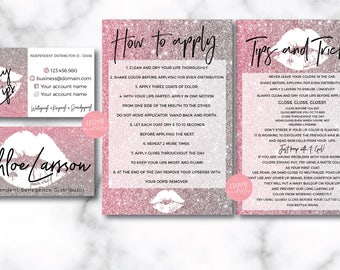 Lipsense business cards etsy popular items for lipsense business cards reheart Gallery