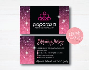 Printable Paparazzi Business Card Etsy