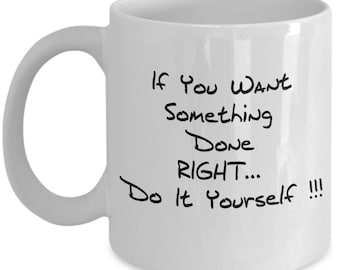 Do it yourself mug
