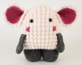 Hugo the Lamb - Crochet Lamb Pattern - Amigurumi Lamb Pattern -  PDF Download