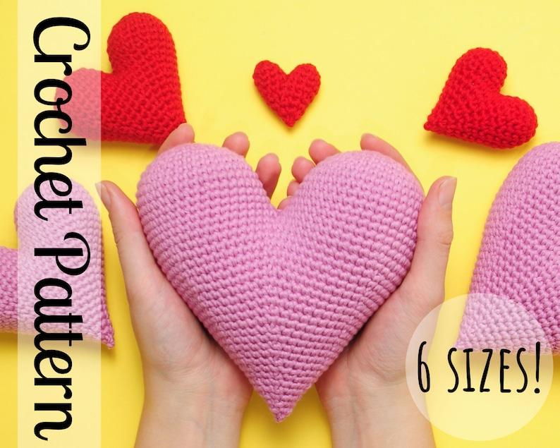 Perfect Crochet Heart Pattern  Crochet Heart Pattern  image 0