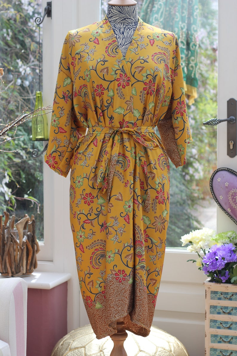 d2dd205d35 Silk Kimono Robe long Mothers day gift wholesale silk
