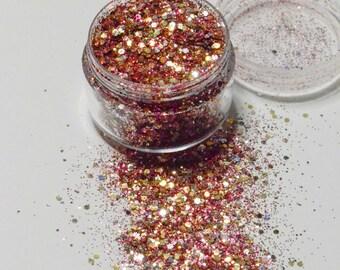 Biodegradable Cosmetic Glitter Cherry Moon