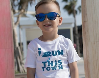 I Run This Town Short sleeve kids t-shirt