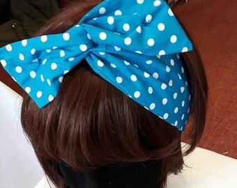 Happy to be Dotty wire twist hairband