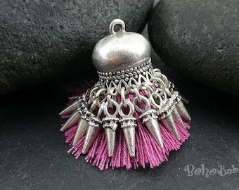 Bohemian Jewelry Gold Tassel Red Tassel Mini Tassel Seed Beaded Tassel Mini Tassel Tassel Earring mykt Tassel Necklace