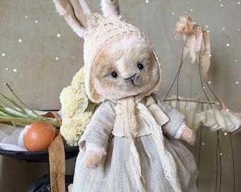 Vintage teddy bunny girl
