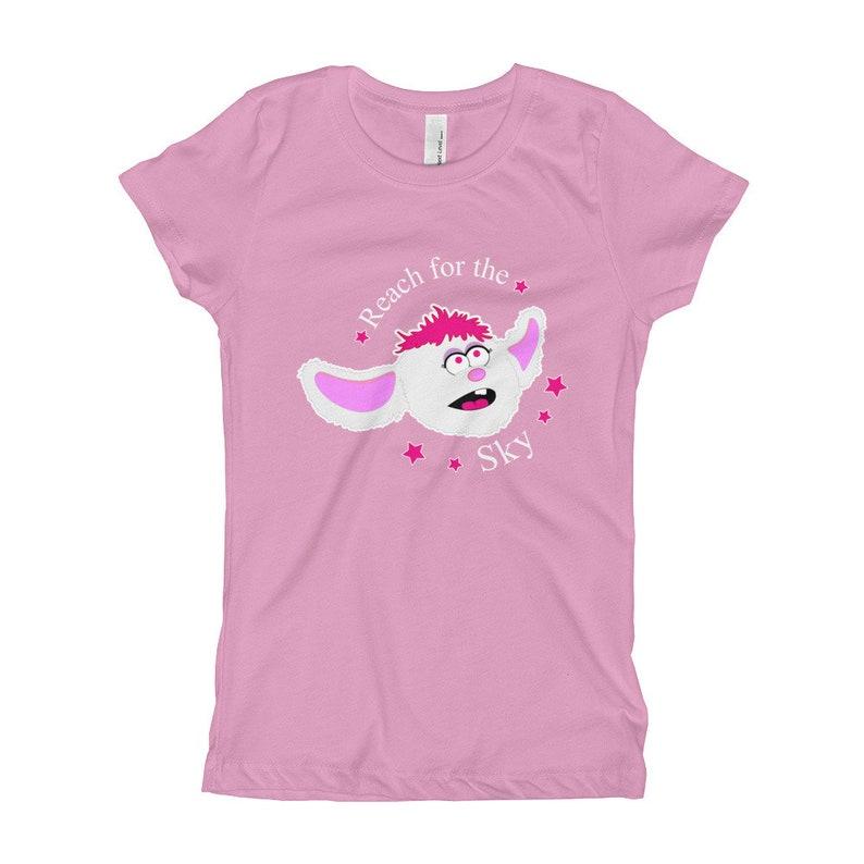 Reach For The Sky Petunia Inspirational Puppet Girls Shirt image 0