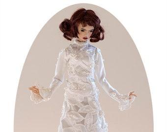 Cyranka Doll / Wedding Dress for Popovy Dolls
